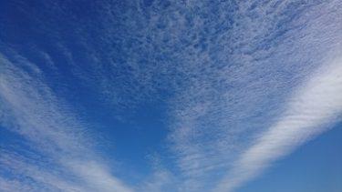 天高く、ジョギング再開の秋