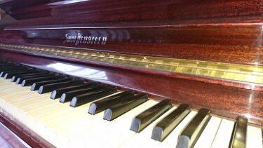 20数年ぶりにピアノが我が家に